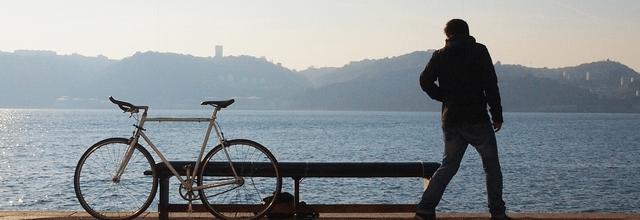 rower człowiek morze mężczyzna nad wodą