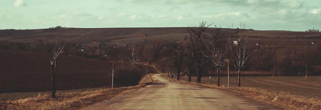 droga ulica jezdnia pusto zadupie nigdzie
