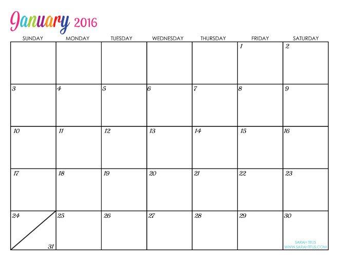 2016-calendar-january