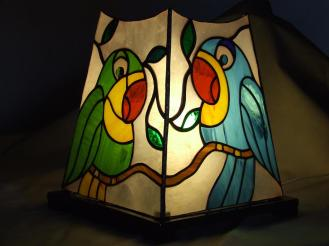Lampada pappagalli