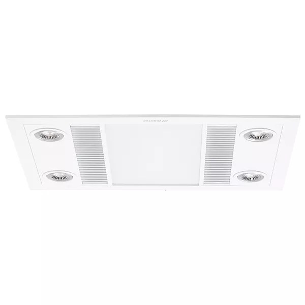 linear 3 in 1 bathroom heater with exhaust fan and led lights martec bathroom heaters