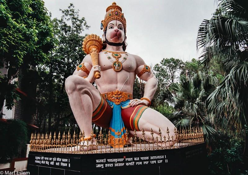 Indie, Himáčal, Pradéš, Hanuman [Mart Eslem]
