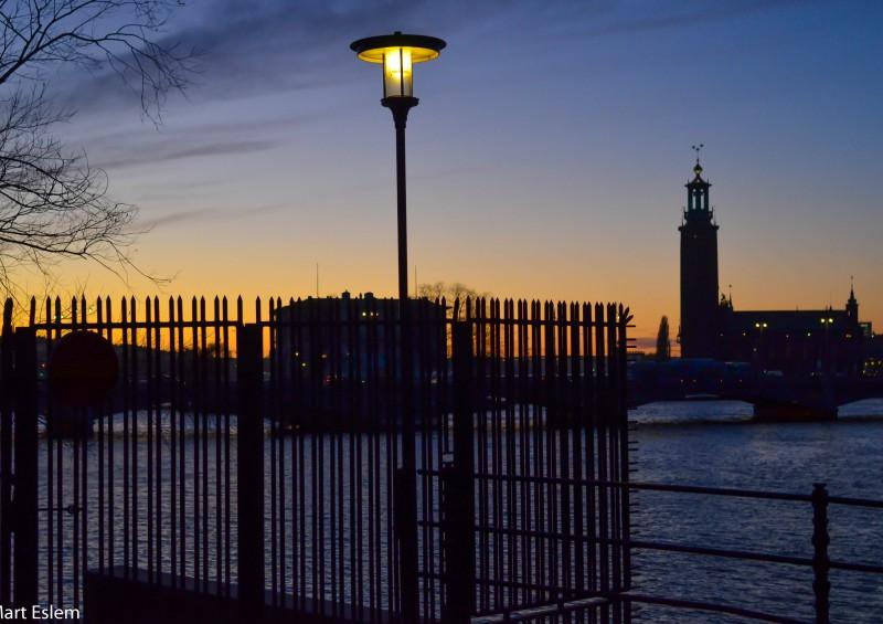 Stockholm, Sweden, Švédsko, soumrak [Mart Eslem]