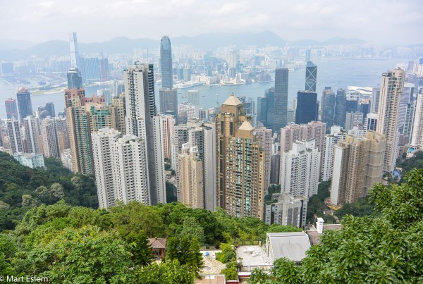 Hong Kong, Island, Victoria, Peak [Mart Eslem]