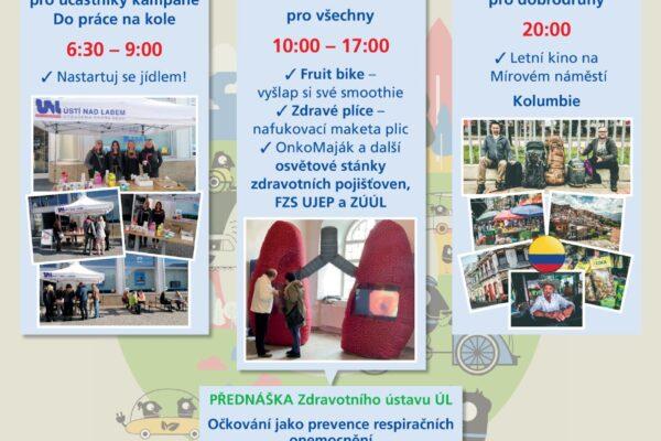 Evropský týden mobility Den pro zdraví Ústí nad Labem