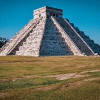 Kukulkánova pyramida, El Castillo, Chichén Itzá, Yucatán, Mexiko (Mart Eslem)