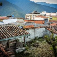 Výhled na Meridu z okna Posada Casa del Sol (Mart Eslem)