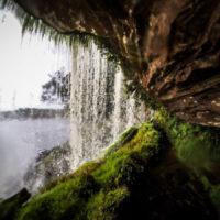 Skrýš za vodopádem Sapo je jako z románu Poslední Mohykán (Mart Eslem)