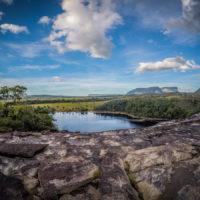Okolí laguny Canaima je navečer královstvím muchniček puri puri (Mart Eslem)