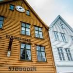 Repliky hansovních domů z 18. století v Bergenu (Mart Eslem)