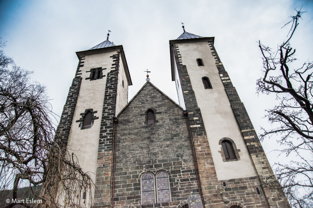 Mariakirken, kostel Panny Marie v Bergenu (Mart Eslem)