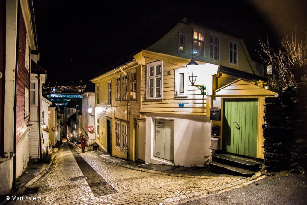 Potemnělé uličky Bergenu (Mart Eslem)