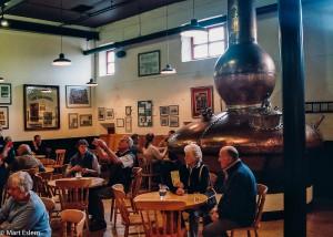 Ochutnávka whiskey Bushmills v baru 1608 (Mart Eslem)