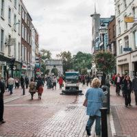 Grafton Street v Dublinu (Mart Eslem)