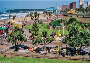 Pláž v Durbanu, JAR [Mart Eslem]