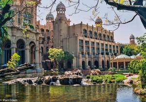 Zahradní část za hotelem The Palace, JAR [Mart Eslem]