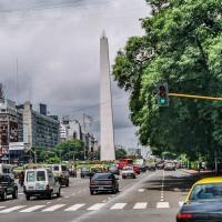 Avenida 9 de Julio v Buenos Aires (Mart Eslem)