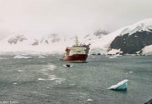 Člověk si v Antarktidě připadá až nicotně(Mart Eslem)