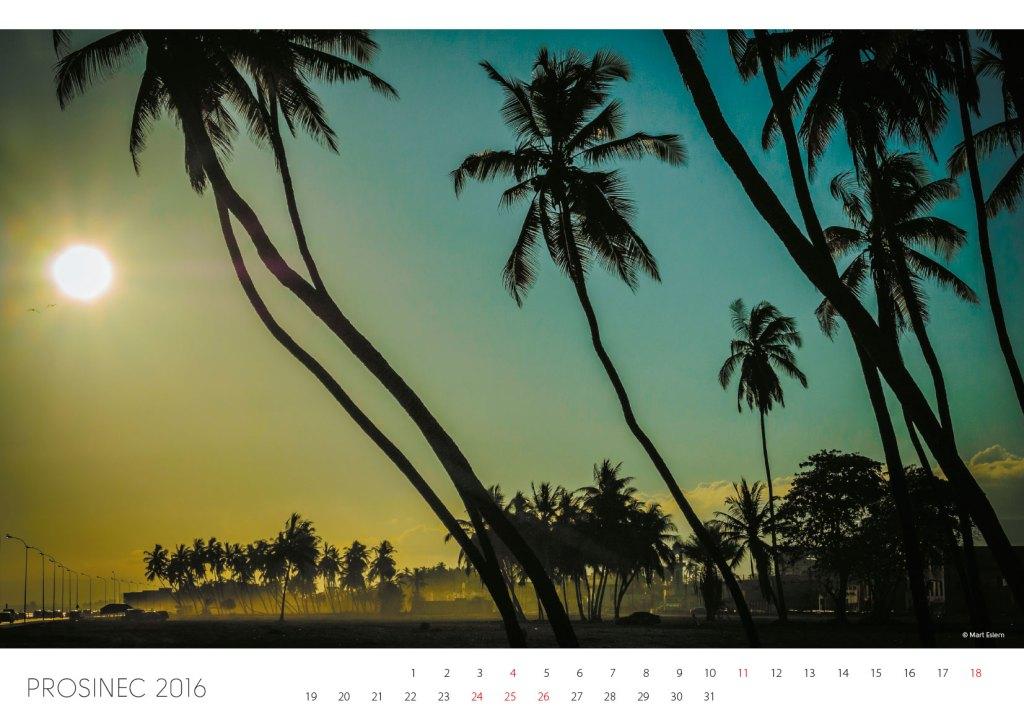 Kalendář Omán 2016