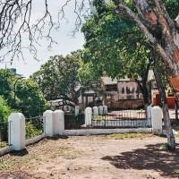 Terasa před Iglesia de la Encarnación v Asunciónu – Asunción, Paraguay [Mart Eslem]