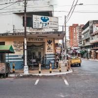 Posilovna v ulicích Asunciónu – Asunción, Paraguay [Mart Eslem]