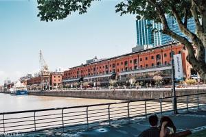 Zrekonstruované doky v Puerto Madero – Buenos Aires, Argentina [Mart Eslem]