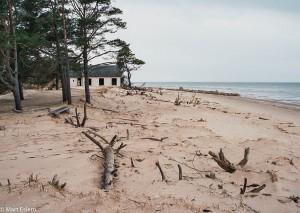 Pláž u lotyšského mysu Kolka (Mart Eslem)