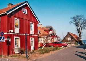 Malebná litevská vesnička Nida (Mart Eslem)