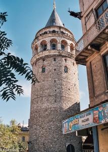 Galatská věž v Istanbulu (Mart Eslem)