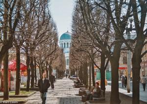 Třída Vilniaus gatvé v Kaunasu (Mart Eslem)