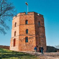 Gediminasova věž ve Vilniusu (Mart Eslem)