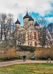 Katedrála Alexandra Něvského v estonském Tallinu (Mart Eslem)