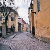 Tallin - uličky Starého města (Mart Eslem)