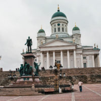 Senátní náměstí v Helsinkách jako kulisa pro hollywoodské filmy (Mart Eslem)