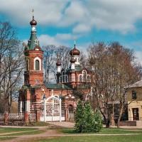 Pravoslavný kostel v lotyšské Limbaži (Mart Eslem)