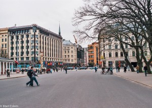 Moderní centrum Rigy (Mart Eslem)