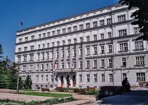 Vládní budova v Bělehradě (Mart Eslem)