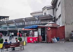 Autobusové nádraží v Prištině (Mart Eslem)