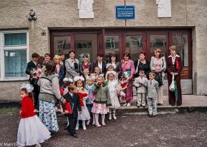 První školní den je v Koločavě vždy brán jako velký svátek (Mart Eslem)