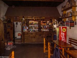 Vnitřek krčmy u Natálky v Koločavě (Mart Eslem)