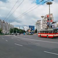 Trolejbusy z plzeňské Škodovky jsou i v Moldavsku (Mart Eslem)