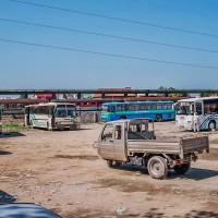 Autobusové nádraží v Tiraně (Mart Eslem)