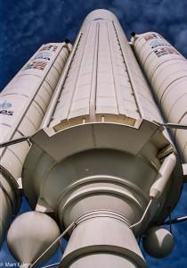 Maketa nosné rakety (Mart Eslem)