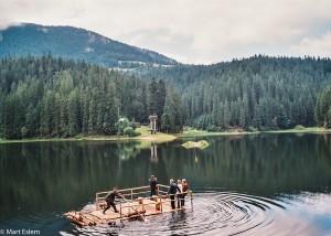 Nová atrakce na Siněvýrském jezeře (Mart Eslem)
