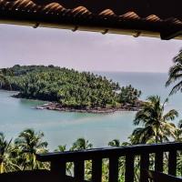 Výhled z restaurace na ostrově Royale (Mart Eslem)