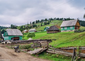 Vesnice Svoboda v Karpatech (Mart Eslem)