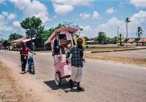 Pouliční prodavači v Maná (Mart Eslem)