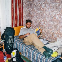Na pokoji v hotelu Meridiana (Mart Eslem)