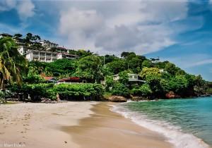 Pláž hotelu Flamboyant na ostrově Grenada (Mart Eslem)