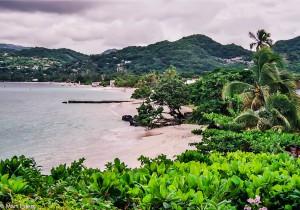 Pláž našeho vyvalování na ostrově Grenada (Mart Eslem)
